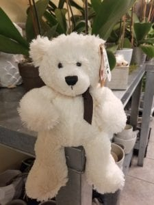 Ganz soft white teddy bear